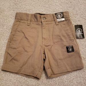 Volcome Khaki Shorts
